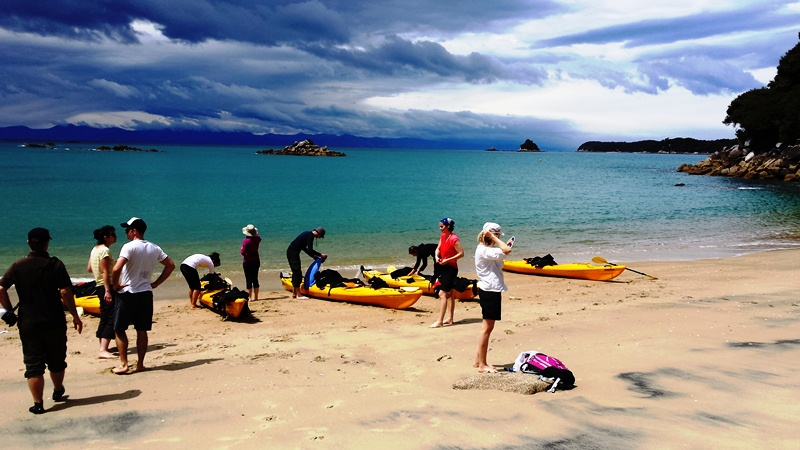 Kajaksafari Abel Tasman Nationalpark, South Island