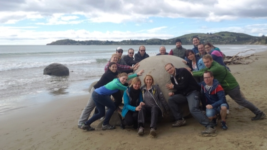 German Tourgroup, Moeraki Boulders