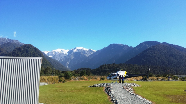 Heliflight, Franz Josef Glacier, South Island