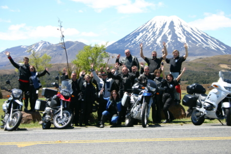 Motorcycle Tour, North Island, Tonagirio National Park