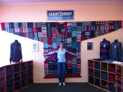 Geraldine, Largest Jumper, Guiness World record