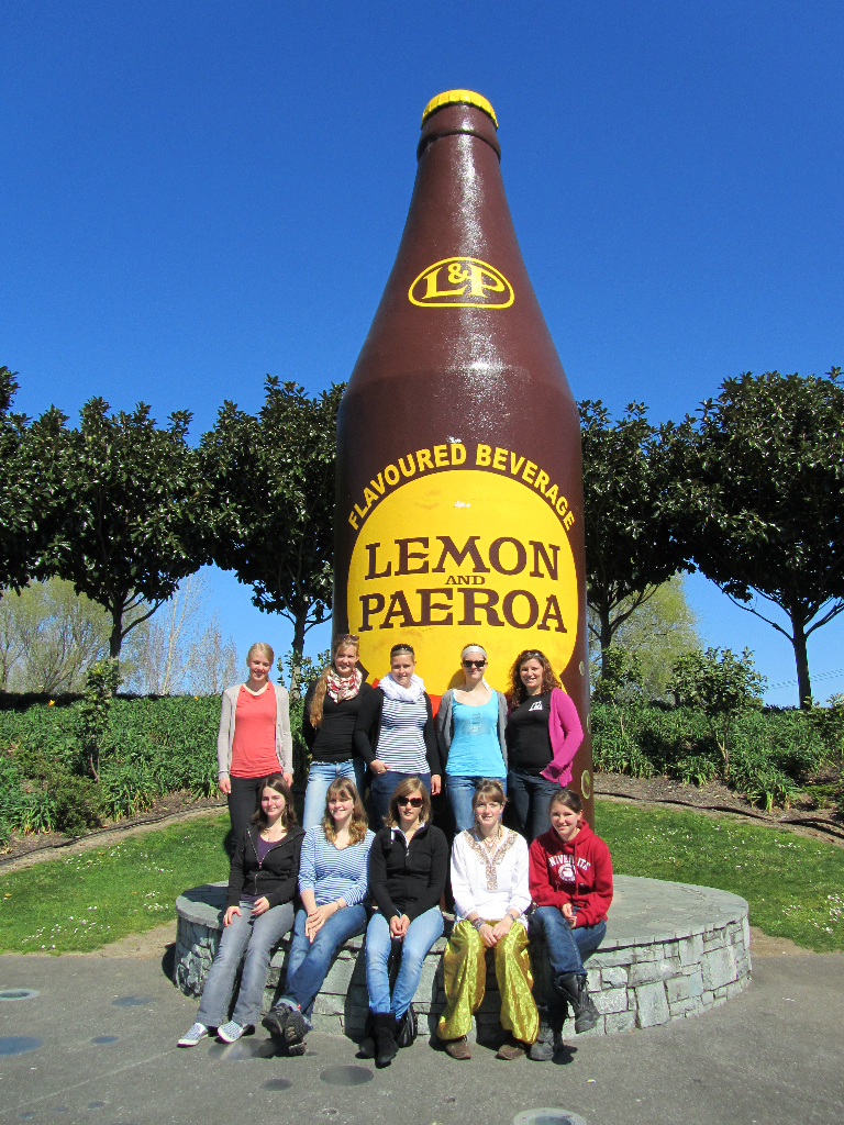 L&P Bottle Paeroa