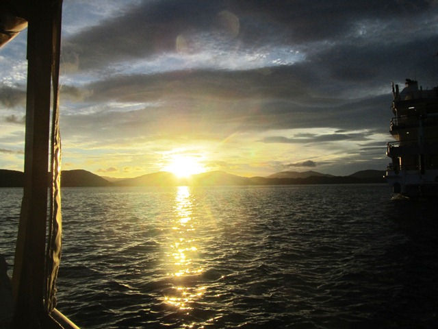 Sunset Marlborough Sounds